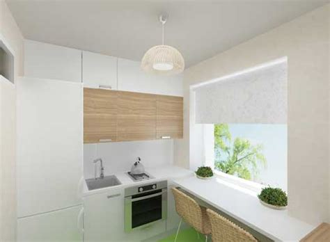 Дизайн кухни в хрущевке, перепланировка, функциональные