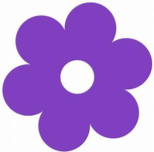 Purple Flower Clipart Clip art of Flower Clipart #253 ...