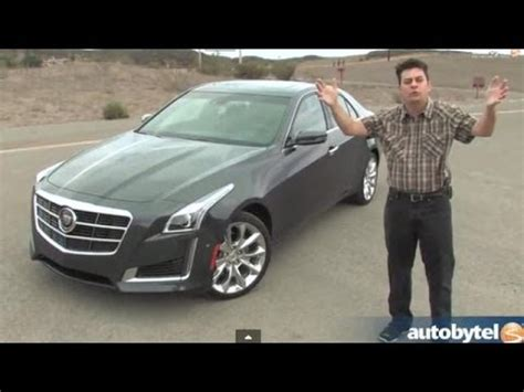 cadillac cts  turbo test drive video review youtube