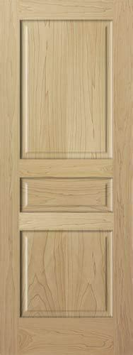 panel raised solid clear poplar staingrade solid core