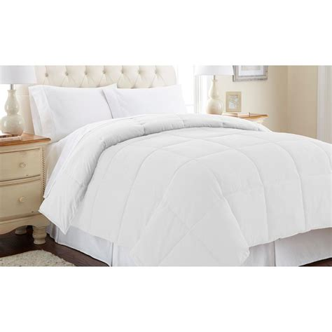 pacific coast comforter pacific coast textiles reversible white alternative