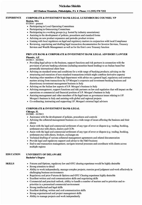 20 In House Counsel Resume in 2020   Resume examples