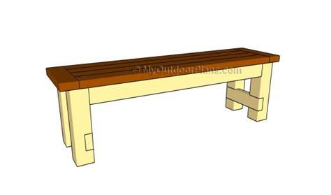 build  seat bench myoutdoorplans
