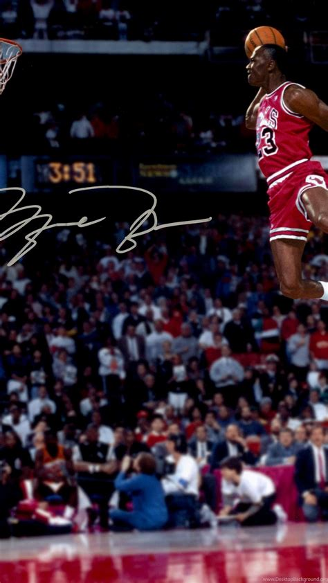 michael jordan great dunk wallpapers desktop background