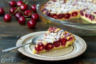 cherry clafoutis home cooking adventure