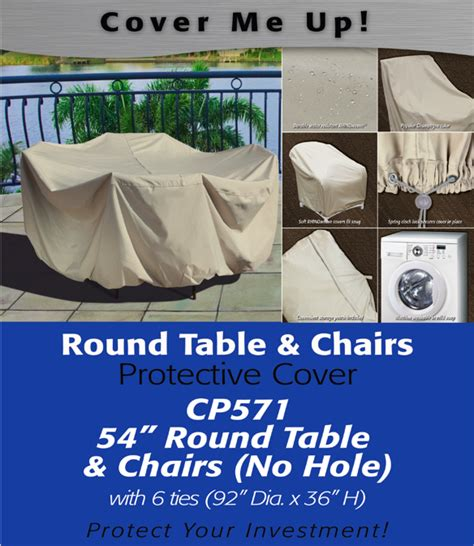 patio furniture covers 54 quot table cover