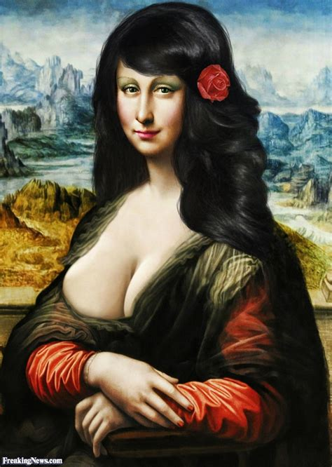 Modern Mona Lisa Pictures Freaking News