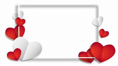 Background Transparent Heart Frame Valentine Shape Pixabay