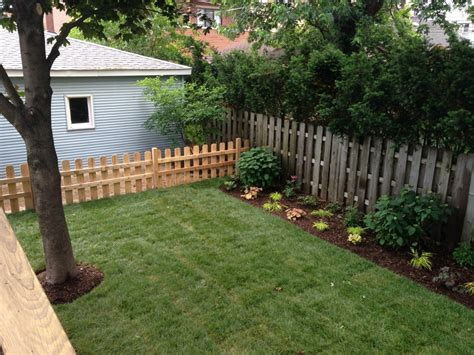 fence landscaping wrigleyville oasis landscape project landscaping and hardscaping brick work paver patios