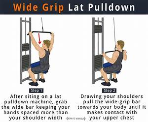 How To Wide Grip Lat Pulldown  Muscles Worked  Alternative Form