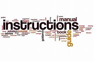 Technical Instruction Manuals  User Guides  Handbooks