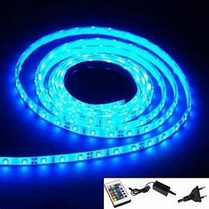 vente bande ruban led lumineux flexible plat 150 led bleu With couleur pour salle de jeux 8 deco en tube neon flexible