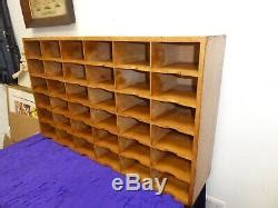 superb mid century pigeon hole shelves post rack  standing  wall mounted