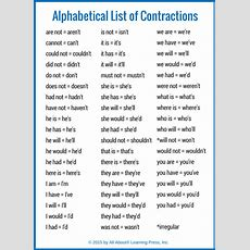 How To Teach Contractions