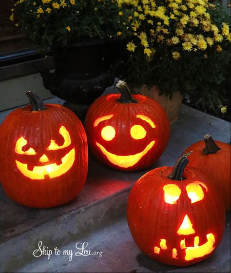 easy pumpkin carving ideas  tricks  pumpkin