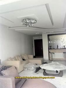 Decoration Faux Plafond : faux plafond moderne 2013 decor platre pinterest ~ Melissatoandfro.com Idées de Décoration