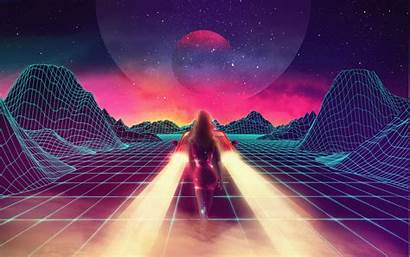 Retro Synthwave Wave Neon 1980s Games Wallpapers