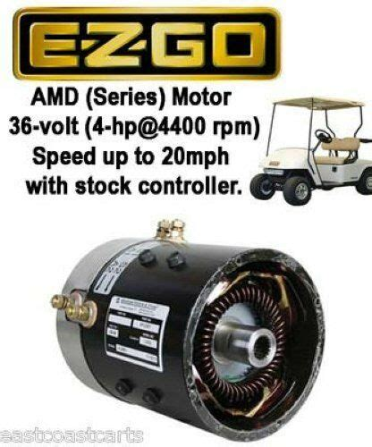 Ezgo Volt Series Golf Cart High Speed Motor Mph With