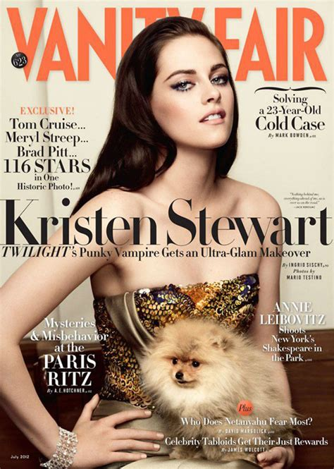 vanity fair magazine kristen stewart for vanity fair magazine stylebrity