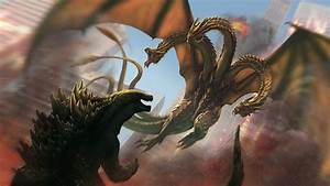 Godzilla Vs King Ghidorah wallpaper - 1319044