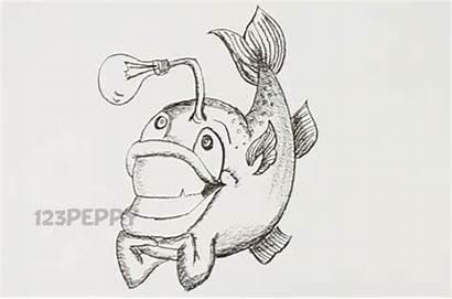 Fish Funny Drawing Animal