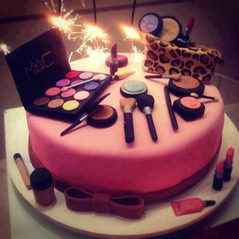 Make Up Decorations by Make Up Cake Decorations For Cakes Cupcakes Pinterest