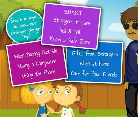 stranger danger tips safety  kids