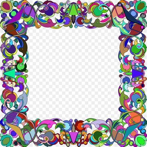 colorful picture frames picture frames clip colorful frame png