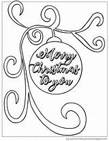 Christmas Coloring Husband Pages Merry Cup Overflows Birthday Ornament Happy Template sketch template