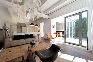 decoration maison contemporaine architecte With deco interieur maison contemporaine