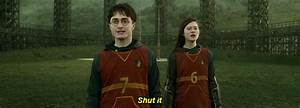 Harry Potter Shut Up GIF - Find & Share on GIPHY