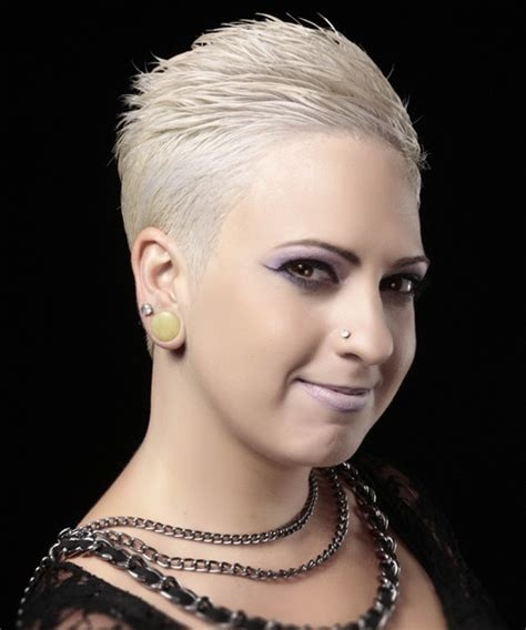 Platinum Hairstyle by Light Platinum Grey Hairstyle