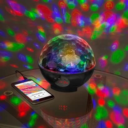 disco light bulb bluetooth disco light speaker radio
