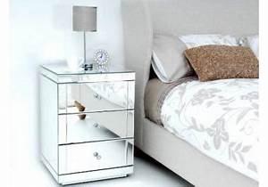 Table De Nuit Miroir : chevet miroir acheter chevets miroirs en ligne sur livingo ~ Teatrodelosmanantiales.com Idées de Décoration