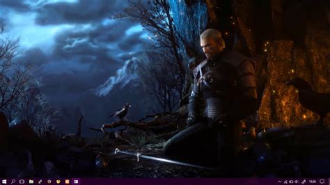 Animated Witcher 3 Wallpaper - wallpaper engine witcher 3