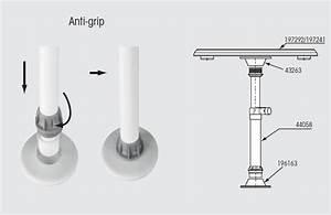 Pied De Table Telescopique : table ronde amovible avec pied telescopique reglable neuf ~ Dailycaller-alerts.com Idées de Décoration