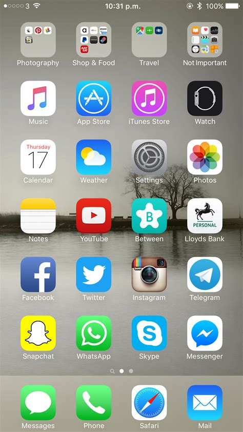 iphone 6 home screen post your iphone 6 6 home screens here possibility