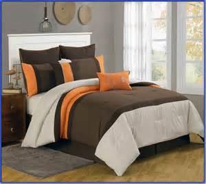 brown and orange bedding sets home design ideas