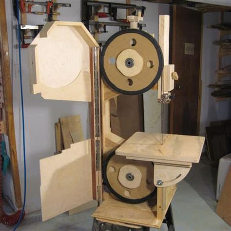 building  bandsaw enclosure