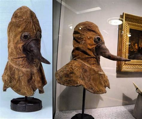 heres  authentic  century plague doctor mask