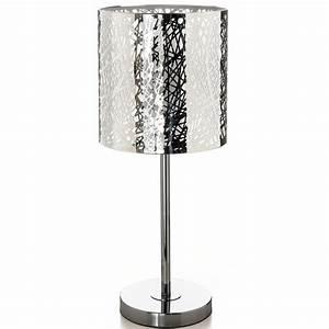 Abat Jour Lampe : lampe avec pied en m tal abat jour style d coup ~ Teatrodelosmanantiales.com Idées de Décoration