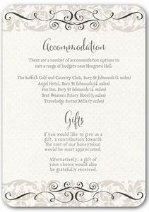 top tips for writing your wedding information insertsivy With wedding invitations with information inserts