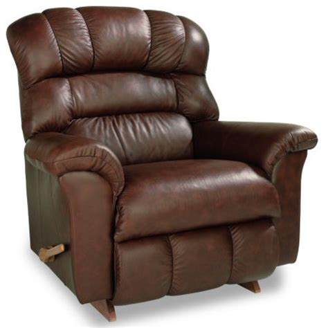la boy reclina rocker leather crandell sc st carlsonu