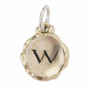 letter quotwquot intra insignia charm by waxing poetic With waxing poetic letter charms