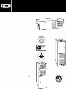 Bryant 383kav Instruction Manual