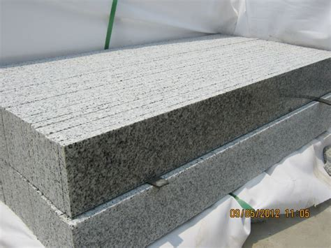 low price g640 outdoor stairs treads granite