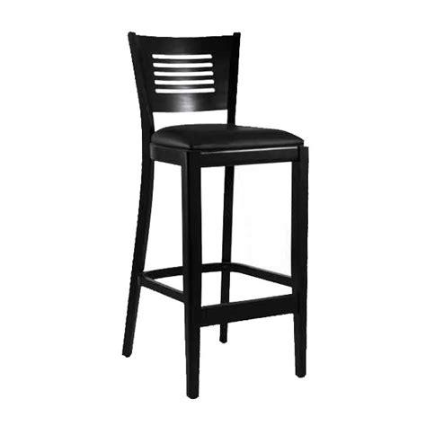 chaise de bar noir chaise de bar en bois couleur noir czh 216 n one mobilier