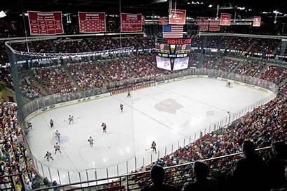 Center Kohl Ice Hockey Wisconsin Badger College