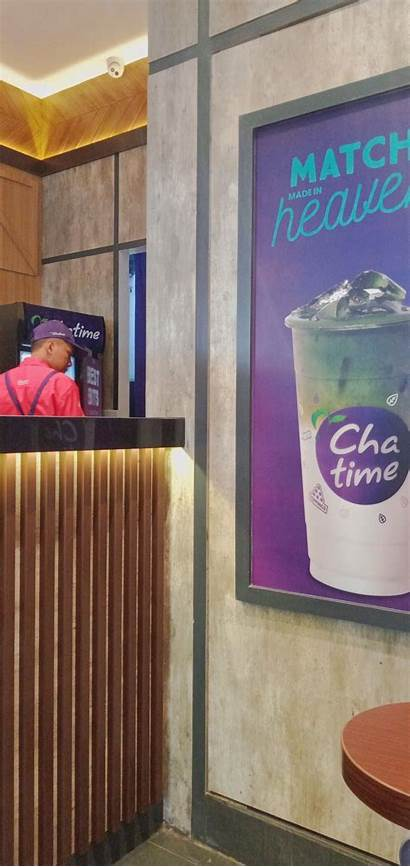 Tea Chatime Milk Bubble Aesthetic Banjarmasin Giant