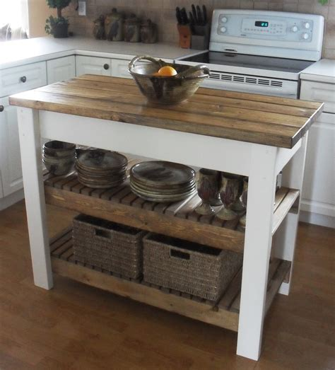 how to build a simple kitchen island white kitchen island diy projects